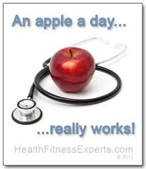 an apple a day really works