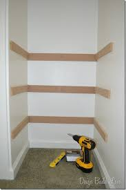 charming build closet shelf 7 simple step to create built in storage design love wood mdf clothes rod plywood diy linen custom walk