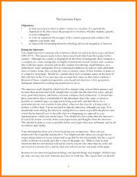 example interview essay condolence thank you card wording sample 5 how to write an essay from an interview rio blog how to write an essay from an interview interview paper apa format example 309310 5 how to write an