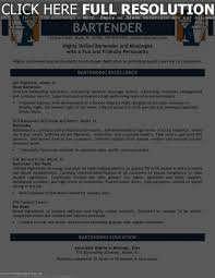 Bartender Objectives Resume Will New 43b24f223021c01477aaaf57548 Sevte