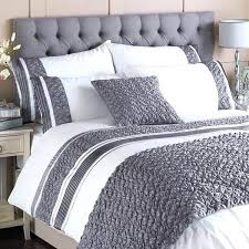 grey super king duvet cover grey embroidered duvet cover luxury grey