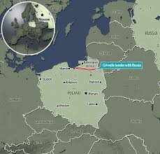 getting ready the cctv towers will will monitor the border between poland and kaliningrad