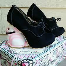 Irregular Choice Shoe Size Chart Irregular Choice Flopsy Black Bunny Rabbit Heel