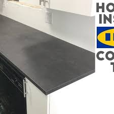 how to install laminate ikea countertops quick and easy you in ikea kitchen countertop