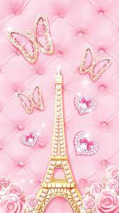 Cute Pink Paris Wallpapers - Top Free ...