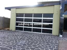 glass garage doors glass garage door cost in modern inspirational home decorating with glass garage glass garage doors