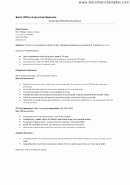Microsoft Office Resume Samples Best of Facility Executive Resume Sample R Sum Healthcare Cfo After