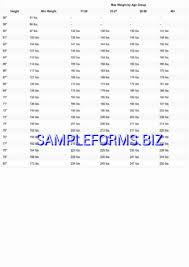 Military Pay Chart 2016 Pdf Army Height And Weight Chart Templates Samples Forms
