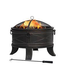 Hampton Bay Quadripod 26 In Round Fire PitFT51161  The Home DepotHome Depot Fire Pit