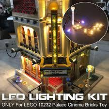 Parisian Restaurant Lighting Kit Led Light Lighting Kit Only For Lego 10232 Palace Cinema Street Lighting Bricks