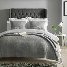 extra large grey woven wool throw bedding accessories