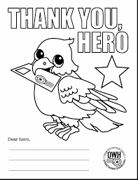 Thank You Coloring Pages Unbelievable Thank You Military Coloring