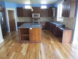 Kitchen With Blue Walls Kitchen Complete Cambria Parys Quartz Slab Counter Tops