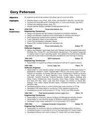 Sample Resume For Electronics Technician Electronics Technician Resume Electronic Engineering Sample Fresh