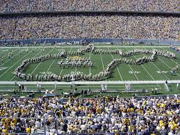 at the end of the day the wvu marching band pre game show boils down to one word tradition it has held true throughout the years and each director has