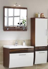 Waschplatz Salona Mit Spiegelhochschrank Badmöbel Badezimmermöbel