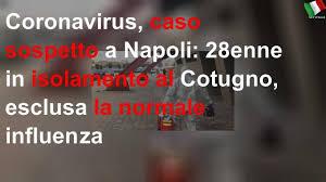 Coronavirus, caso sospetto a Napoli: 28enne in isolamento al Cotugno,  esclusa la normale influenza