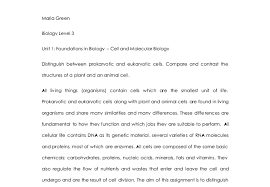distinguish between prokaryotic and eukaryotic cells compare and  document image preview