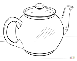 Small Picture Small teapot coloring page Free Printable Coloring Pages