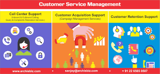 archis business solutions customer service outsourcing bpo staff trained knowledge and excellent written and verbal communication skills are provided as per client s requirement and as per project