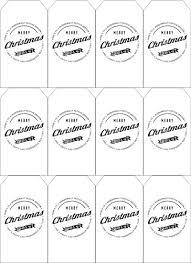 12 Free Printable Christmas Tags
