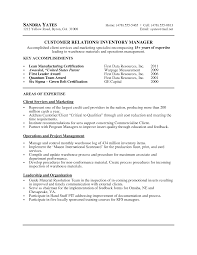 Cover Letter Sample Resume For Warehouse Manager Free Sample