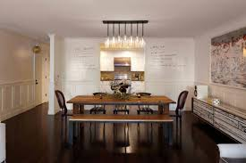 casual dining room lighting. Dining Room By Lauren Geremia - Love The Dry Erase Paint On Back Wall. Casual Lighting I