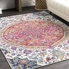vintage oriental pink blue area rug and gandalf rugs pink and blue area rug