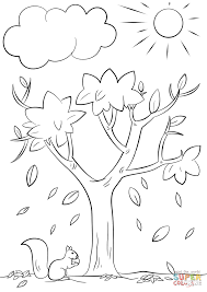 24 Coloring Page Of A Tree Free Printable Tree Coloring Pages For