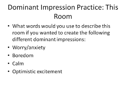 literacy narrative examples ppt video online  22 dominant impression