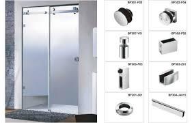 factory price durable frameless shower door hardware shower door hardware e51