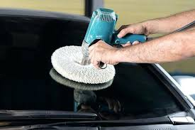 polish scratches out of glass buffing with a mechanical tool applies an even amount of pressure with a powerful motor for quicker finish however if you have
