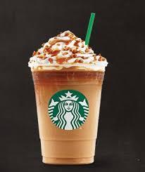 starbucks caramel frappuccino. Brilliant Frappuccino Caramel Ribbon Crunch Frappuccino Blended Coffee Inside Starbucks Frappuccino T