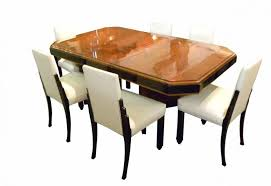 permalink to the most awesome in addition to lovely art deco dining room sets intended for