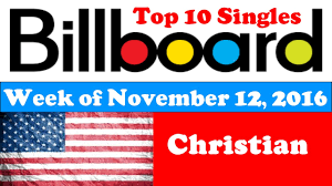 Billboard Christian Charts November 12 2016 Chartexpress