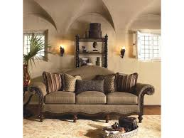 Thomasville Living Room Furniture Thomasvillear Ernest Hemingway 462 Pauline Camel Back Sofa With