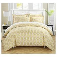 Yellow : Duvet Covers : Target & Lovey Geometric Diamond Printed Reversible Duvet Cover Set - Chic Home  Design® Adamdwight.com