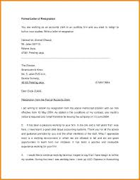 Formal Resignation Letter Template One Month Notice Fresh Cover ...