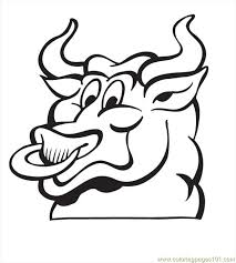 Small Picture Bull Coloring Pages02 Coloring Page Free Bull Coloring Pages