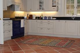 Full Size of Tile Floors Stylish Kitchens With Polished Concrete Cabinet Kitchen  Terracotta Floor Tiles In ...