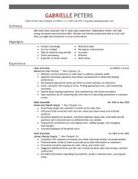 Resume Objective Sales Associate Beauteous Sales Associate Resume Examples Created By Pros MyPerfectResume