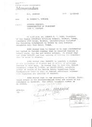 University Of Houston Recommendation Letter Evidence Of Bush And Ruby Spinning Oswalds Public Persona