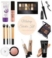 ashleigh em makeup starter kit on a budget
