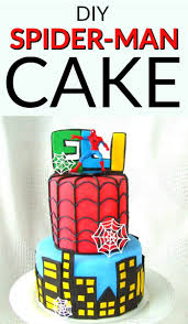 Spiderman Cake Cakes By Erna Creation