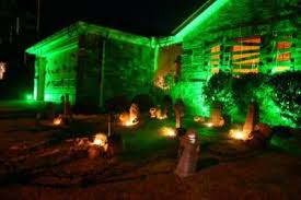 halloween lighting ideas. Green Christmas Lights Ideas For Halloween Lighting
