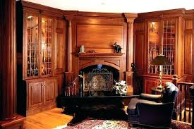 office wood paneling. Cherry Wood Paneling Office Panel Room Fireplace Home Traditional With S