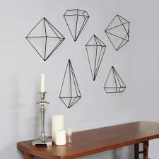umbra wall decor prisma black