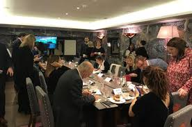 the events and communications agency top banana hosted the roundtable event at the haymarket hotel in london