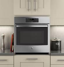 best ge 27 built in single electric wall oven stainless steel jk1000sfss
