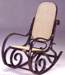 bentwood rocking chair no 1 by michael thonet 1862 austria